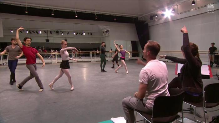 Rehearsal of Aeternum on World Ballet day