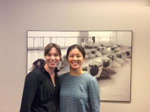 Anna Trevien and Nagisa Inoue